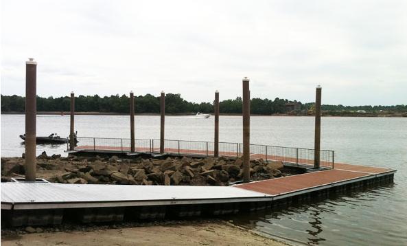 penn quaker floating dock