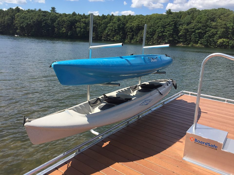 BoardSafe dock and marine accessories kayak launch