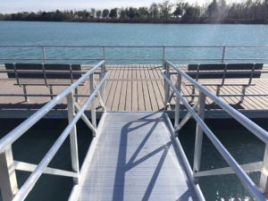 adaptive fishing piers
