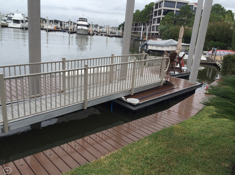 BoardSafe Docks Used in Residential Project on Texas Gulf Coast