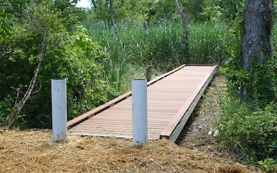 New Walkway for the Jarrett Nature Center, PA