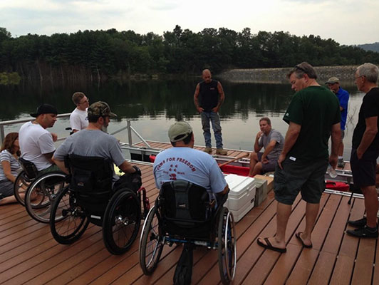 Disabled paddlers share input for accessible kayak launch